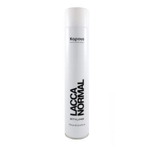 Лак аэрозольный Kapous для волос нормальной фиксации «Lacca Normal»