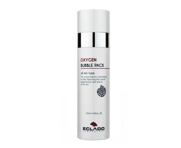 Пузырьковая кислородная маска Eclado выравнивающая тон кожи лица