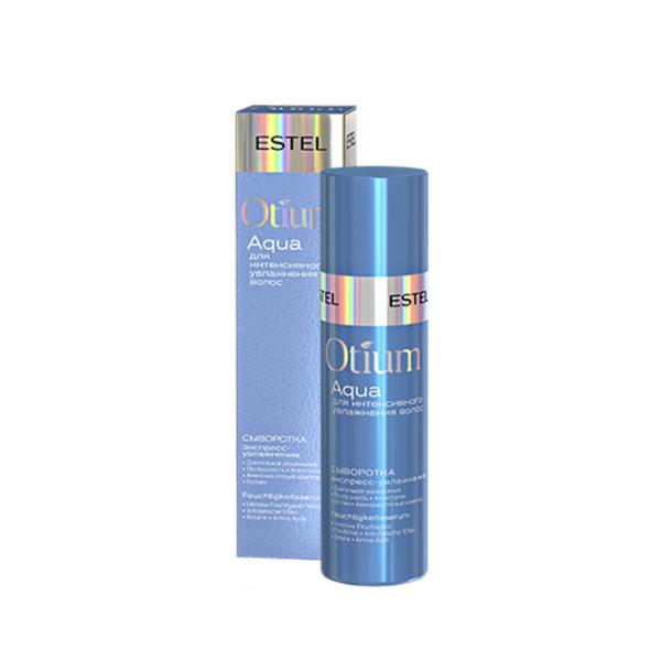 Спрей-сыворотка Estel Otium Aqua, экспресс-увлажнение для волос