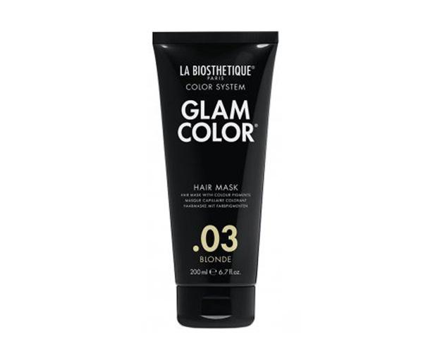 Тонирующая маска для волос 03 Glam Color Hair Mask 03 Blonde La Biosthetique