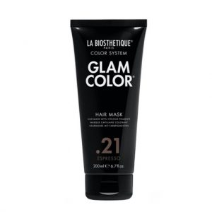 Тонирующая маска для волос Glam Color Hair Mask 21 Espresso La Biosthetique