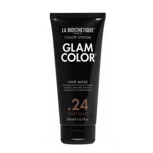 Тонирующая маска для волос.24 Glam Color Hair Mask .24 Chocolate La Biosthetique