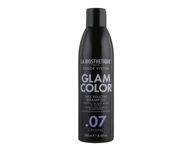 Шампунь для окрашенных волос Glam Color No Yellow Shampoo .07 Crystal TS La Biosthetique