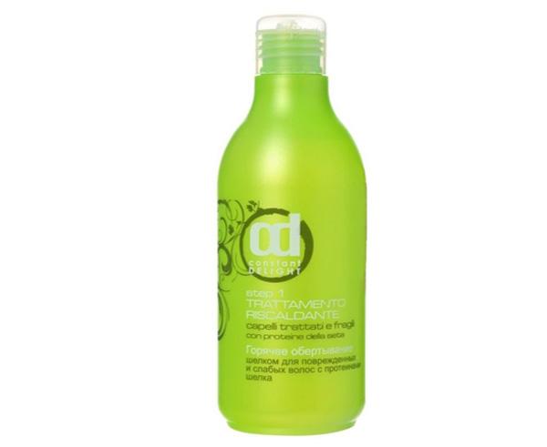Горячее обертывание биоламинирование для поврежденных волос SPA с шлеком Constant Delight