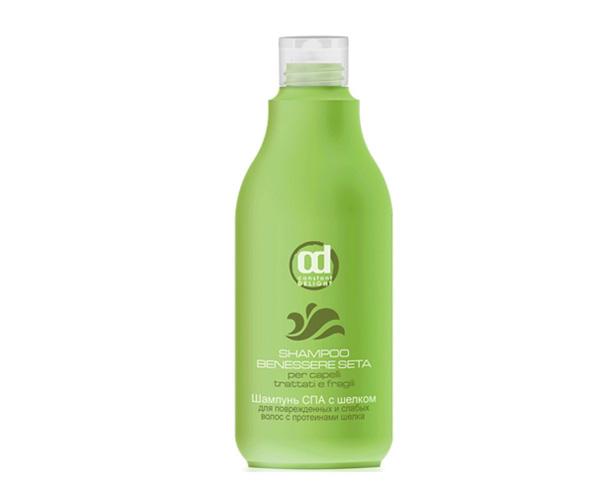 Шампунь СПА для поврежденных и слабых волос SPA с шлеком Constant Delight
